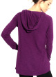 Round Tail Hoodie - Back in Detox Berry