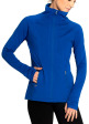 EcoTech Jacket - Front in Brilliant Blue
