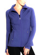 EcoTech Jacket - Front in Heather Grape Crush