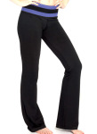 Tech Pant – Front in Heather Grape
